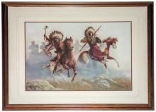 War Cry DeHaan Signed Lithographic Print