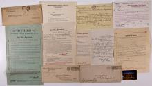 Columbus Philatelic Collection (Covers, Check, Oath, Letters)