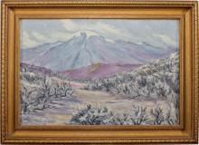 Mt. Rose Oil Painting (c.1929)