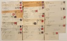 Bullfrog District postal history covers