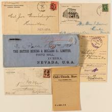 Eureka Covers & Postal History: lot of 6