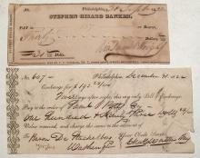 Very early Eastern Bank Exchange & Check