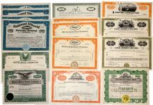 U.S. Insurance Company Stock Certificate Group (15)