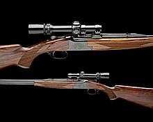 FABRIQUE NATIONALE A 7X65R 'B25' SWEDISH SPECIAL EDITION SINGLE-TRIGGER OVER AND UNDER EJECTOR DOUBLE RIFLE, serial nO. 8G3RN4090,