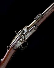 * WESTLEY RICHARDS & CO. A .450 PERCUSSION SINGLE-SHOT CAPPING BREECH-LOADING CARBINE, MODEL 'MONKEY-TAIL', serial no. 8924,