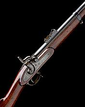 A .577 PERCUSSION SINGLE-SHOT SERVICE-RIFLE SIGNED TOWER, MODEL 'PATTERN 1856', no visible serial number,
