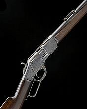 WINCHESTER REPEATING ARMS, USA A .44-40 (WIN) LEVER-ACTION REPEATING SPORTING RIFLE MODEL '1873 SPECIAL ORDER', serial no. 154090A,