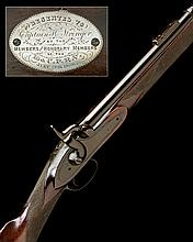 J. ASTON, HYTHE A .577 PERCUSSION SINGLE-SHOT SHORT-RIFLE, MODEL 'VOLUNTEER PRIZE RIFLE', no visible serial number,