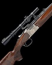 WINCHESTER A 7X65R 'GRAND EUROPEAN XTR' SINGLE-TRIGGER OVER AND UNDER BOXLOCK EJECTOR DOUBLE RIFLE, serial no. DRN00162,