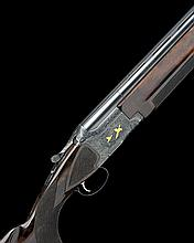 WINCHESTER A VIRTUALLY UNUSED 12-BORE 'PIGEON GRADE' SINGLE-TRIGGER OVER AND UNDER EJECTOR, serial no. PK358636,