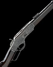 * WINCHESTER REPEATING ARMS, USA A .44-40 (WIN) LEVER-ACTION REPEATING CARBINE MODEL '1873', serial no. 408396B,