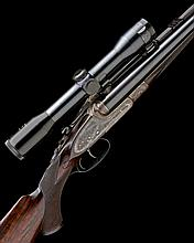STEPHEN GRANT & SONS A 7X57R NITRO EXPRESS SIDELOCK NON-EJECTOR DOUBLE RIFLE, serial no. 7319,