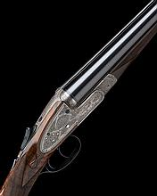 C.S. ROSSON & CO. A RARE 16-BORE 'SLIDE-OPENING' SIDELOCK EJECTOR, serial no. 3480,