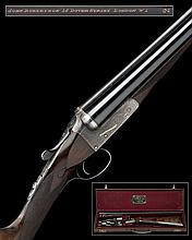 JOHN ROBERTSON A FINE 20-BORE BOSS PATENT SINGLE-TRIGGER BOXLOCK EJECTOR, serial no. 7683,