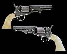 COLT, USA A FACTORY ENGRAVED .31 PERCUSSION FIVE-SHOT REVOLVER, MODEL '1849 POCKET', serial no. 91471,