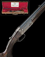 HOLLAND & HOLLAND A .295 (ROOK) 'ROYAL' SINGLE-BARRELLED HAMMERLESS ROOK RIFLE, serial no. 18281,