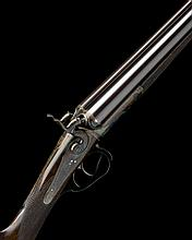 RICHARD JEFFERY A 12-BORE THUMBHOLE-UNDERLEVER ROTATING-BOLT SINGLE-BITE SNAP-ACTION HAMMERGUN, serial no. 2587,