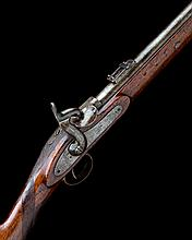 * ENFIELD A .450 PERCUSSION WHITWORTH RIFLED MILITARY CARBINE, MODEL 'HUGHES PATENT', serial no. 15625,