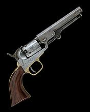 * COLT, USA A .31 PERCUSSION FIVE-SHOT SINGLE-ACTION REVOLVER, MODEL '1849 POCKET', serial no. 208046,