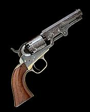 COLT, USA A .31 PERCUSSION SIX-SHOT SINGLE-ACTION REVOLVER, MODEL '1849 POCKET', serial no. 191184,