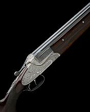 GEBRUDER MERKEL A 12-BORE 'MODEL 303' DOUBLE-TRIGGER OVER AND UNDER HAND-DETACHABLE SIDELOCK EJECTOR, serial no. 51035,