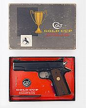 ** COLT, USA A BOXED .38SPL (WC) SEMI-AUTOMATIC TARGET-PISTOL, MODEL 'GOLD CUP NATIONAL MATCH', serial no. 7452-MR,