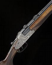 GEBRUDER MERKEL A 16-BORE OVER AND UNDER  SIDELOCK EJECTOR, serial no. 38625, with extra 16-bore / 7x57 barrels and a .22WM insert,