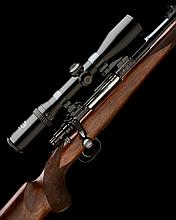 MAUSER A CUSTOM .338 WIN. MAG. BOLT-MAGAZINE SPORTING RIFLE, serial no. 111137,