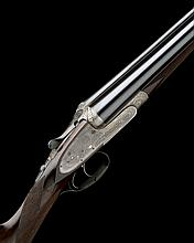 F. BEESLEY A 16-BORE SIDELOCK EJECTOR, serial no. 2555, with extra 20-bore barrels,