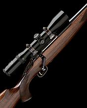 THOMPSON & CAMPBELL RIFLES LTD A 7X57MM BOLT-MAGAZINE STUTZEN SPORTING RIFLE, serial no. 97005,