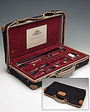MAURIZIO CAIROLA A FINE HANDMADE CASED PRESENTATION GUN CLEANING KIT,