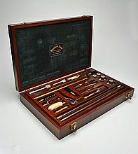 A PENDLETON ROYAL 'WARWICK' COMPREHENSIVE PRESENTATION RIFLE AND SHOTGUN CLEANING KIT,