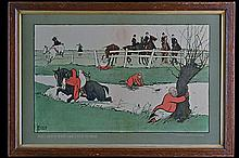 THACKERAY EDWARDS A COLLECTION OF FOUR 1920's PRINTS,