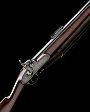 WILKINSON, LONDON AN EXCEPTIONAL .550 PERCUSSION MILITARY RIFLE OF 1851 MINIE STYLE, POSSIBLY EXPERIMENTAL, no visible serial number...