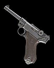 ** A 9mm (PARA) SEMI-AUTOMATIC SERVICE PISTOL, UNSIGNED, MODEL 'P08', serial no. 1957,