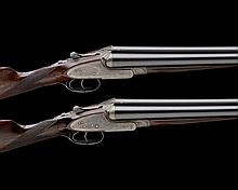 STEPHEN GRANT & SONS A PAIR OF KELL-ENGRAVED 12-BORE SIDELOCK EJECTORS, serial no. 17382 / 3,