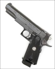 STRAYER VOIGT INC. USA A .38 (SUPER) SEMI-AUTOMATIC 'RACE-GUN', MODEL 'INFINITY', serial no. 407426,