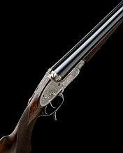 J. WOODWARD & SONS A 12-BORE 1876 PATENT 'THE AUTOMATIC' PUSH-FORWARD UNDERLEVER SIDELOCK EJECTOR, serial no. 4376,