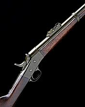 EX SMALL ARMS SCHOOL CORPS WEAPONS COLLECTION REMINGTON, USA A .43 (EGYPTIAN) 'ROLLING BLOCK' RIFLE, nvsn, collection no. 3151
