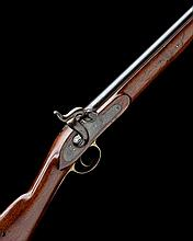 A .650 PERCUSSION SINGLE-SHOT CARBINE SIGNED TOWER, MODEL '1840 CONSTABULARY CARBINE, P42 STYLE', no visible serial number,