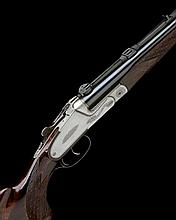FRIEDRICH WILH. HEYM A 7X65R 'MODEL 88 B/SS' PINLESS SIDELOCK EJECTOR / NON-EJECTOR DOUBLE RIFLE, serial no. 82088,