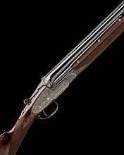 AUG. LEBEAU-COURALLY A FINE, COROMBELLE-ENGRAVED 12-BORE 'BOSS TYPE MOD. 112C' OVER AND UNDER LIVE PIGEON GUN, serial no. 43244,