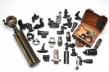 A LARGE QUANTITY OF REPLACEMENT AND AUXILLIARY RIFLE SIGHTS,