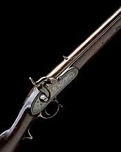 A .750 PERCUSSION SINGLE-SHOT MUSKET, MODEL 'EAST INDIA PATTERN '42', no visible serial number,