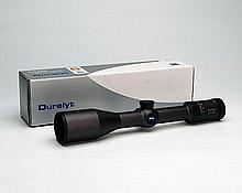 ZEISS A VIRTUALLY UNUSED DURALYT 3-12X50 TELESCOPIC SIGHT, serial No. 03591222,