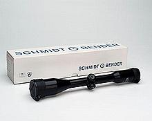 SCHMIDT & BENDER A USED '6X42 ST' TELESCOPIC SIGHT, serial No. 279921,