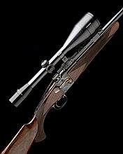 WESTLEY RICHARDS A .220 SWIFT WESTLEY RICHARDS 1881 PATENT FALLING-BLOCK SPORTING RIFLE, serial no. 42279,