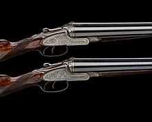 WILLIAM POWELL A PAIR OF 12-BORE SIDELOCK EJECTORS, serial no. 10180 / 1,