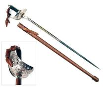 A GOOD BRITISH OFFICER'S 1897 PATTERN DRESS SWORD,