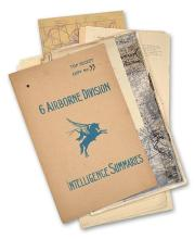 A RARE AND HISTORICALLY IMPORTANT DOSSIER '6 AIRBORNE DIVISION INTELLIGENCE SUMMARIES',